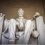 Free stock photo Statue of the president in the Lincoln Memorial, Washington D. C