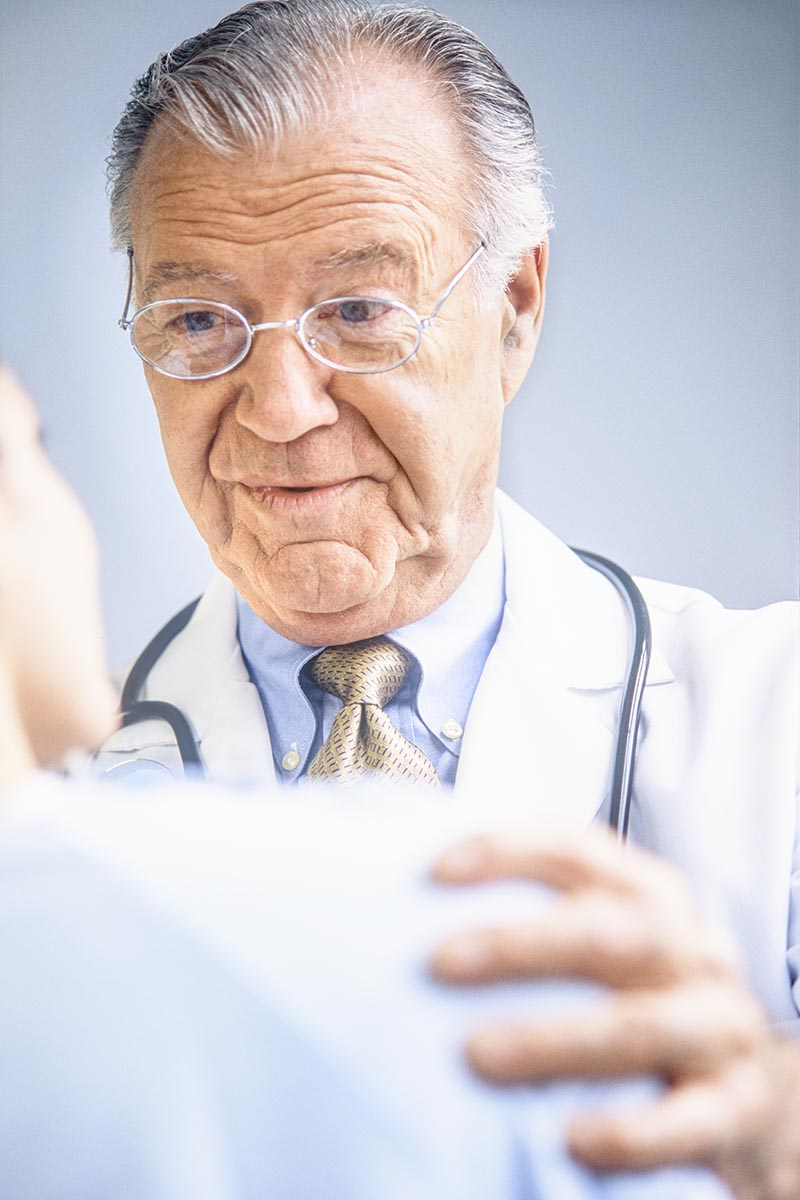 Free stock photo Doctor advising a patient