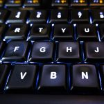 Free stock photo Close up of keys on a computer keyboard