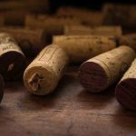 Free stock photo Close-up of wine corks on table
