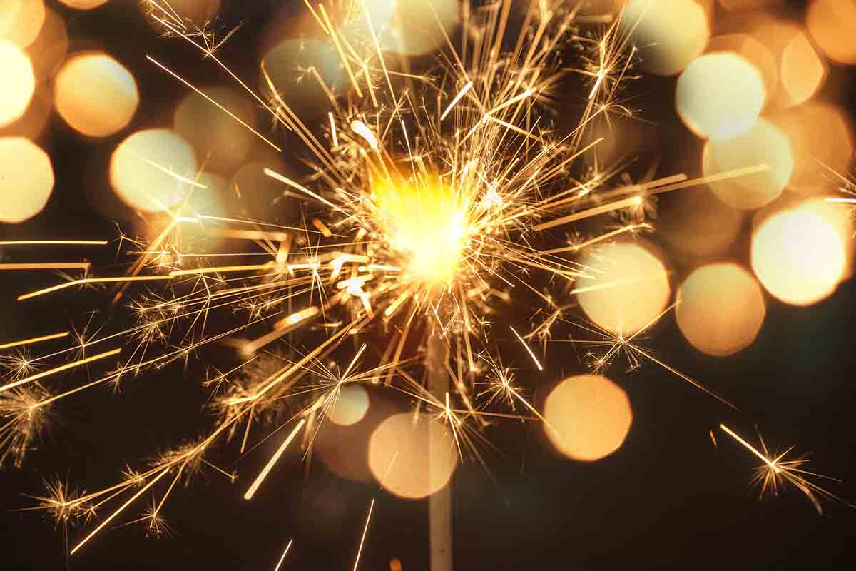 Free stock photo Close-up of sparkler