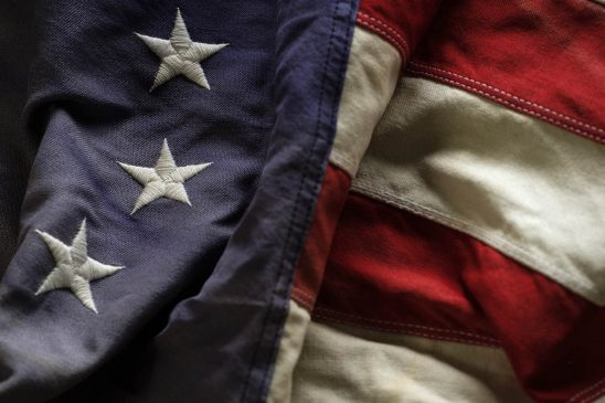 Free stock photo Close up of early American flag