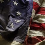 Free stock photo American Revolution flag with thirteen stars