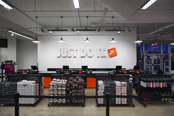 Nike Detroit Store