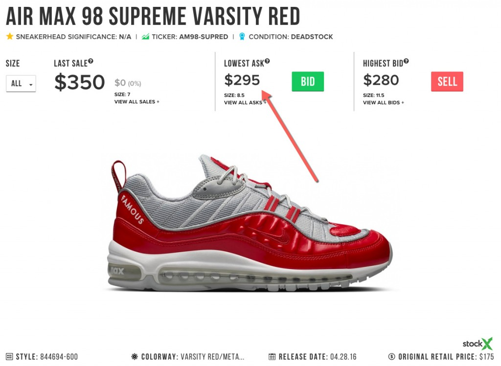 air max real price