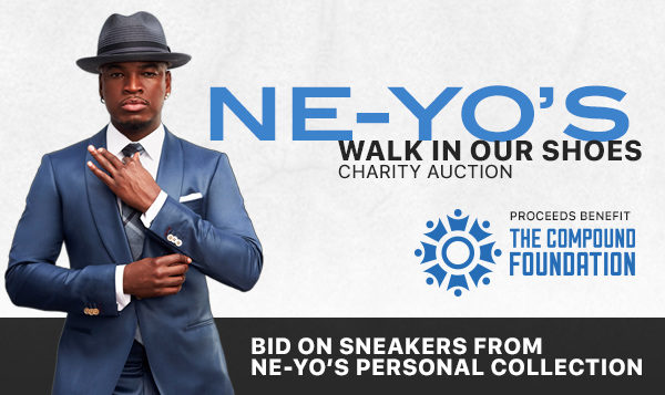 "NE-YO and The Compound Foundation Partners with StockX, The ""Stock Market of Things,"" For The ""Walk In Our Shoes"" Campaign"