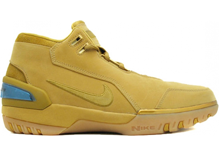 Nike LeBron 1 Air Zoom Generation AZG Wheat