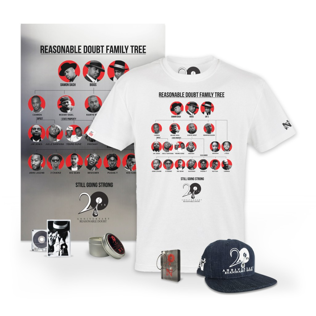 Reasonable Doubt 20th Anniversary VIP Pack