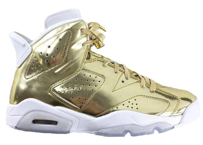 a3cbf337cdfbcf Air Jordan 6 Pinnacle Metallic Gold - StockX News
