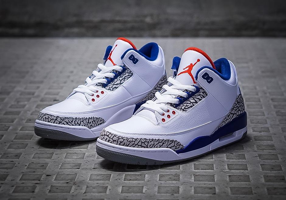 21229638ddcd1d Jordan 3 True Blue True Blue Jordan 3 Nike Air ...