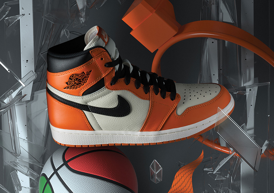 Reverse Shattered Backboard Air Jordan 1