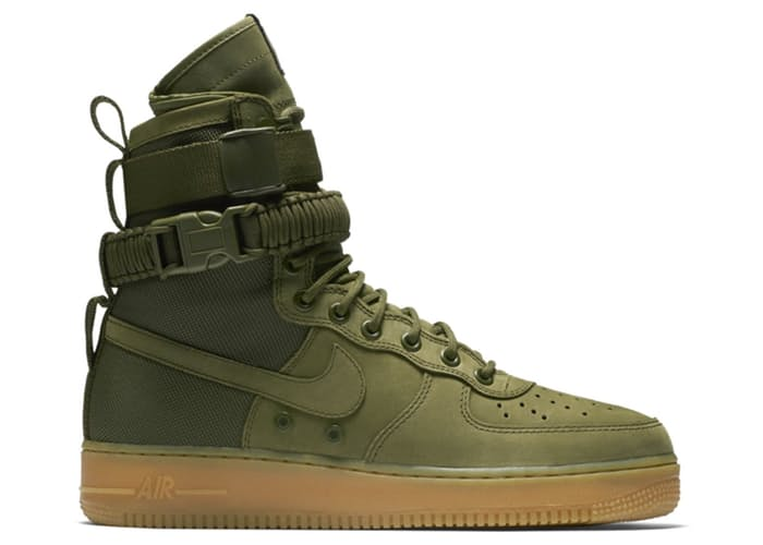 on sale 12e0c 57d00 SF Nike Air Force 1 Faded Olive Gum