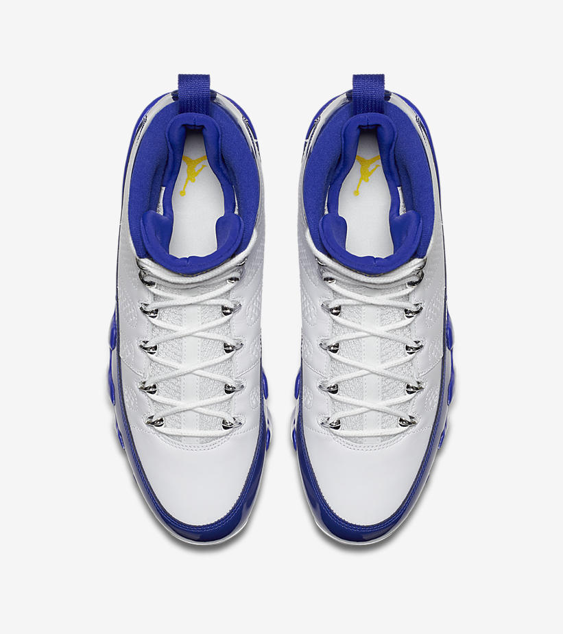 Air Jordan 9 Kobe Bryant Lakers PE - StockX News b06673bfed