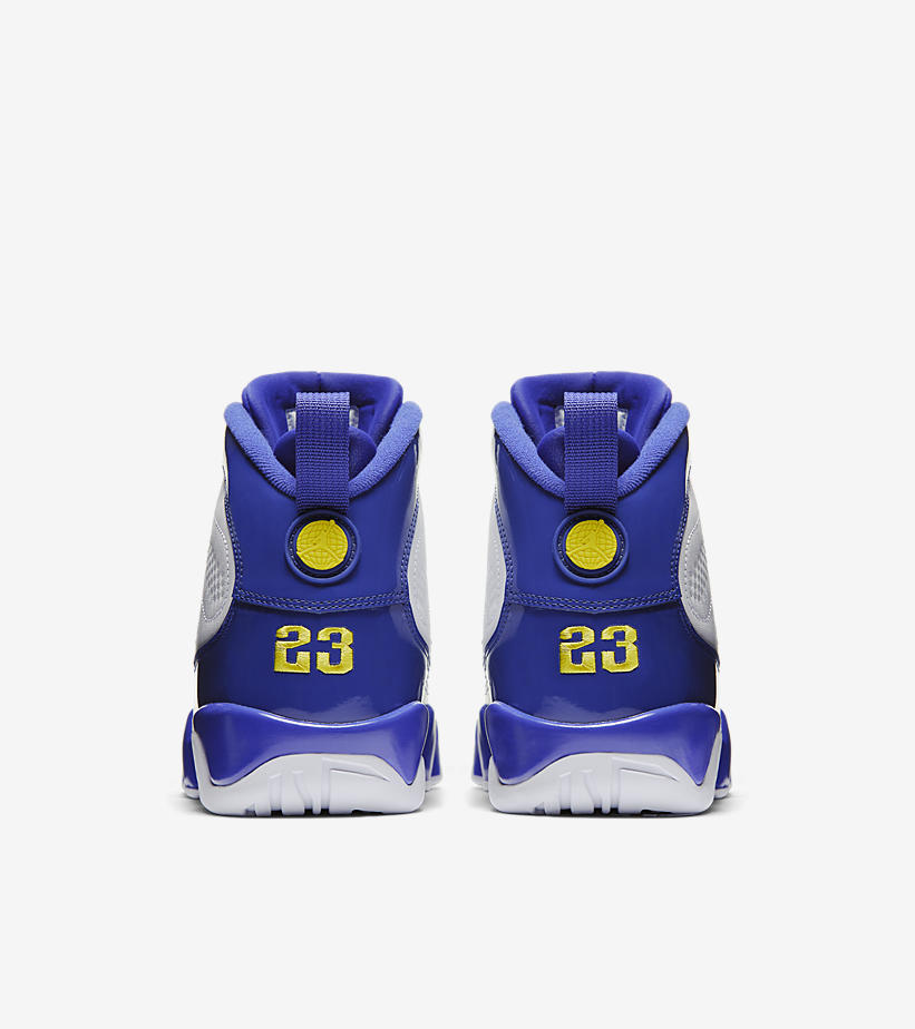 quality design e6768 574bf Air Jordan 9 Kobe Bryant Lakers PE - StockX News
