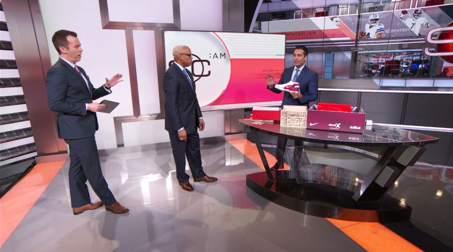 SportsCenter's Kevin Negandhi Unboxes the Air Zoom Generation