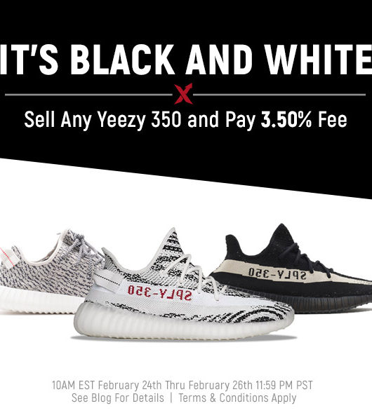 Yeezy Zebra Promo