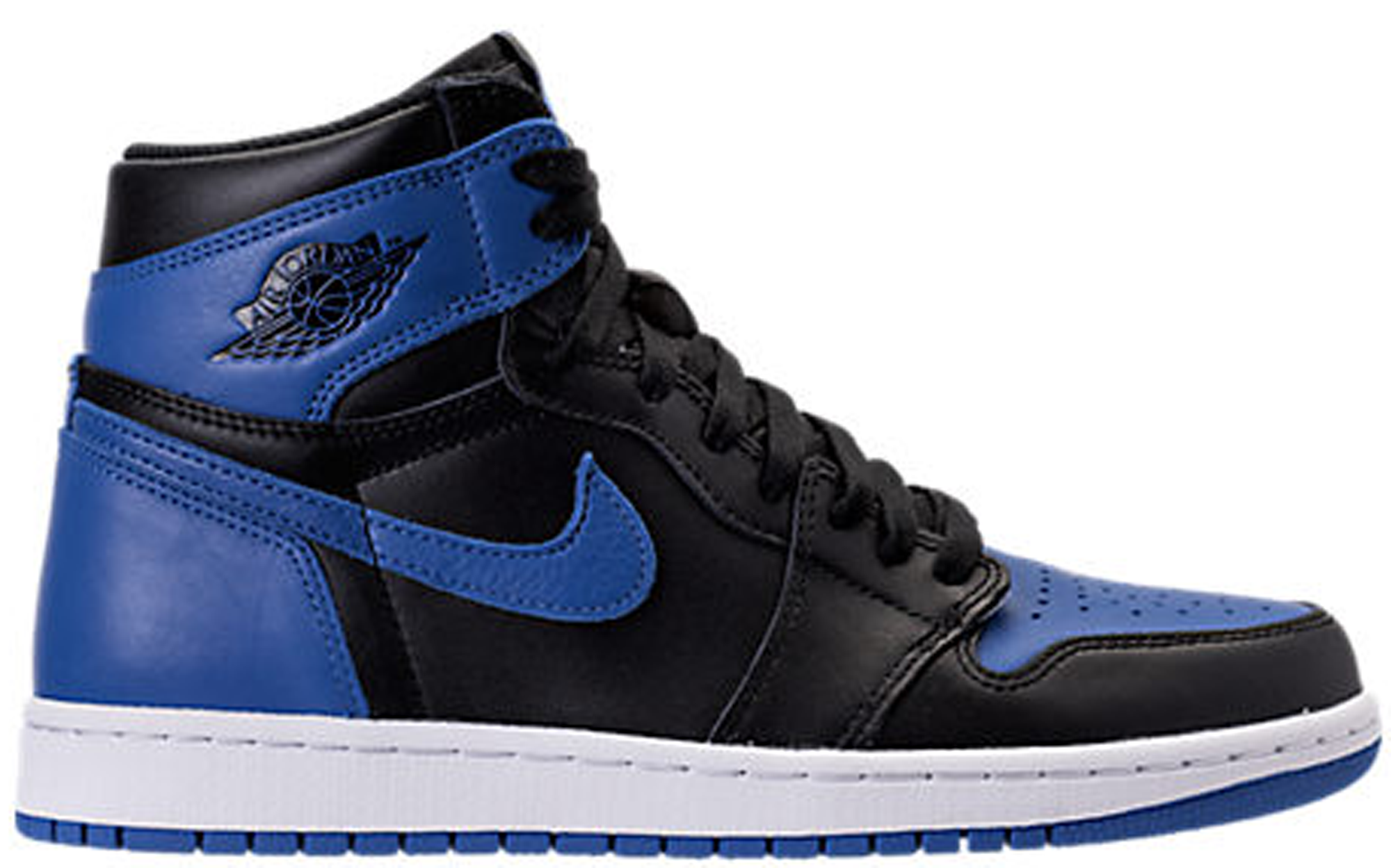 Air Jordan 1 Retro High OG Black Varsity Royal 2017