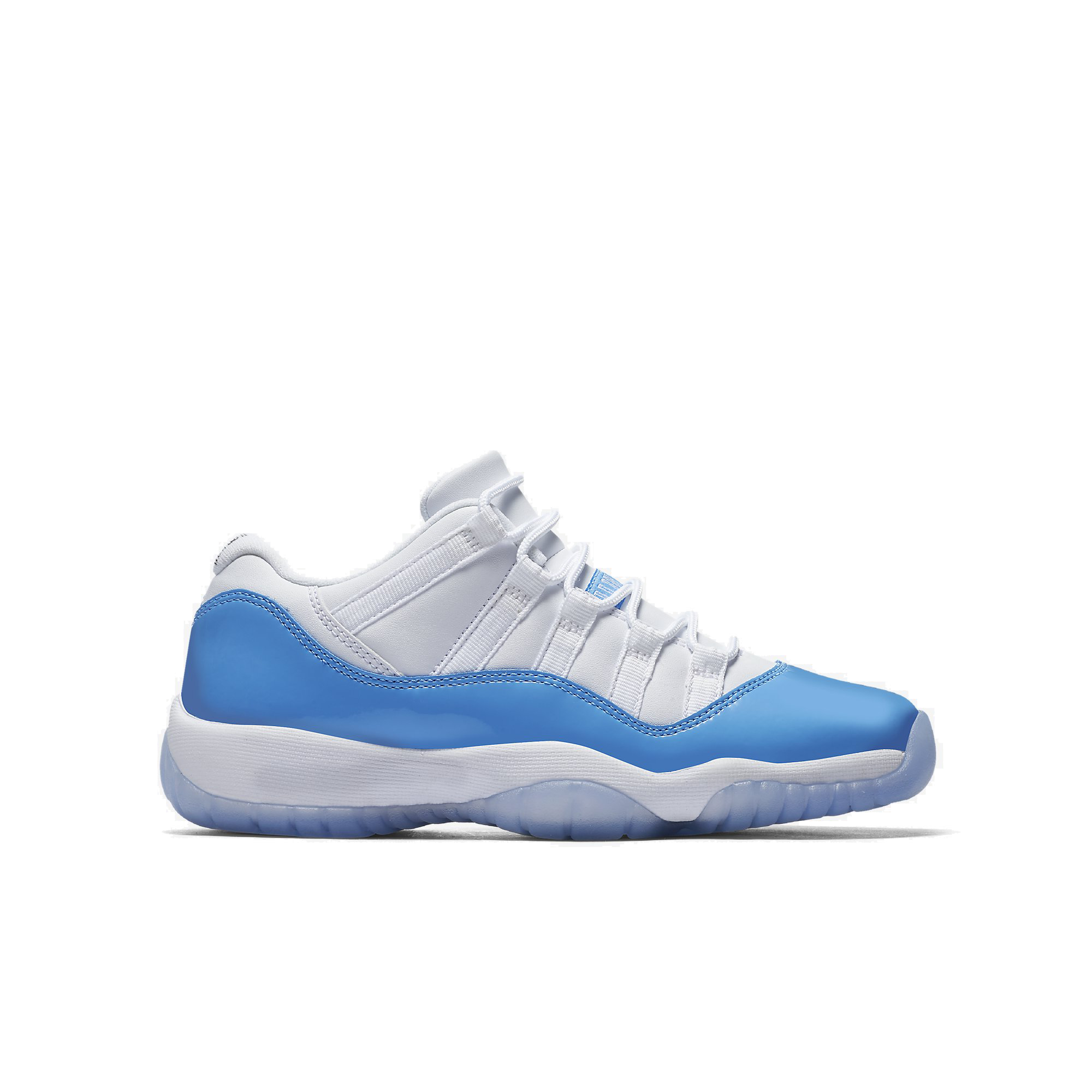 ffa43c7520b Air Jordan 11 Retro Low GS Colorway  White University Blue Style  528896-106.  Release Date  04.15.17