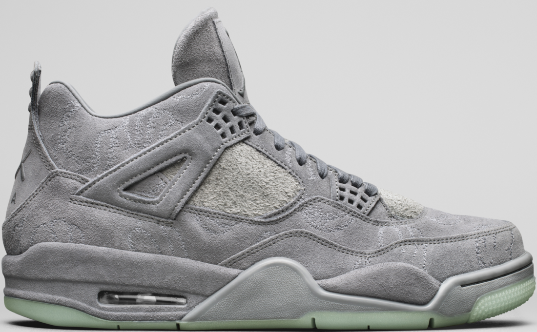 Air Jordan 4 Retro Kaws Cool Grey