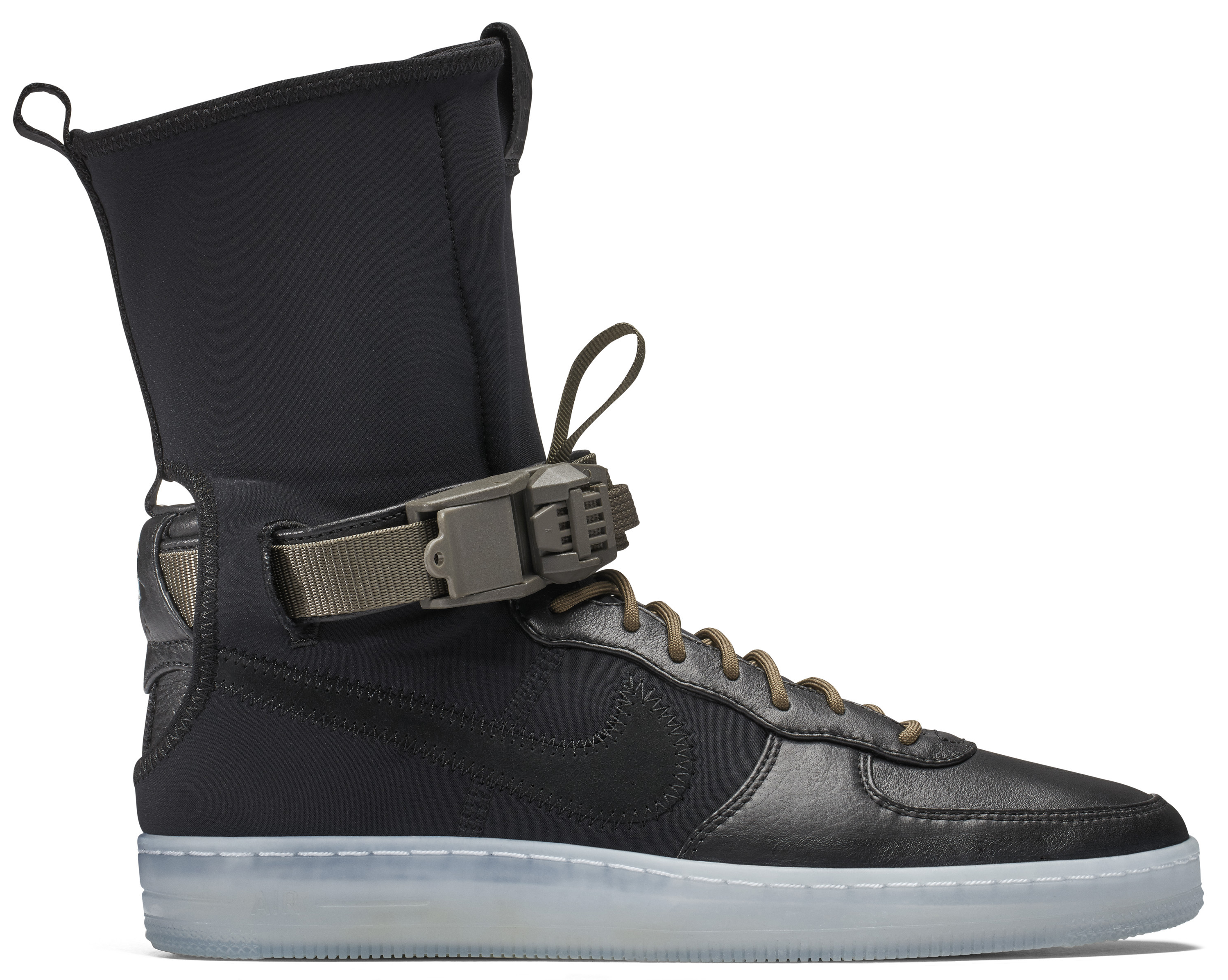Nike Air Force 1 Downtown High Acronym Black Olive - StockX News df8adeb55