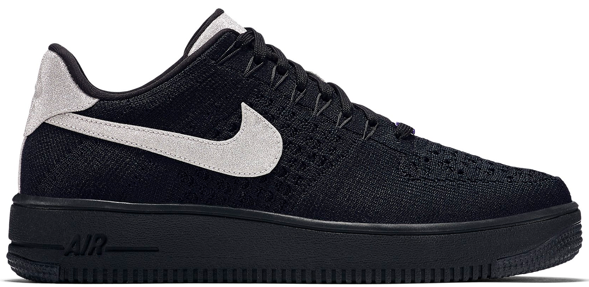 the best attitude 5ef3d dbd77 Nike Air Force 1 Ultra Flyknit Low AS QS Black Metallic Silver All Star 2017