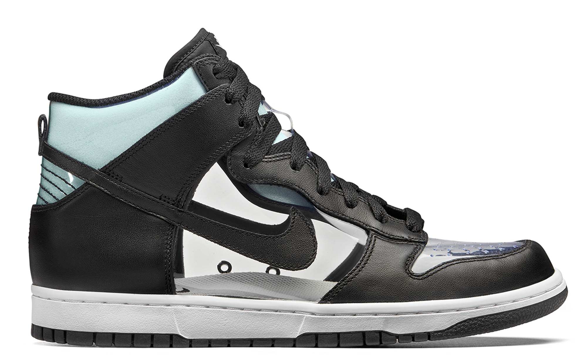 new product a56ca 02dc0 Nike Dunk High COMME des GARCONS Clear - StockX News