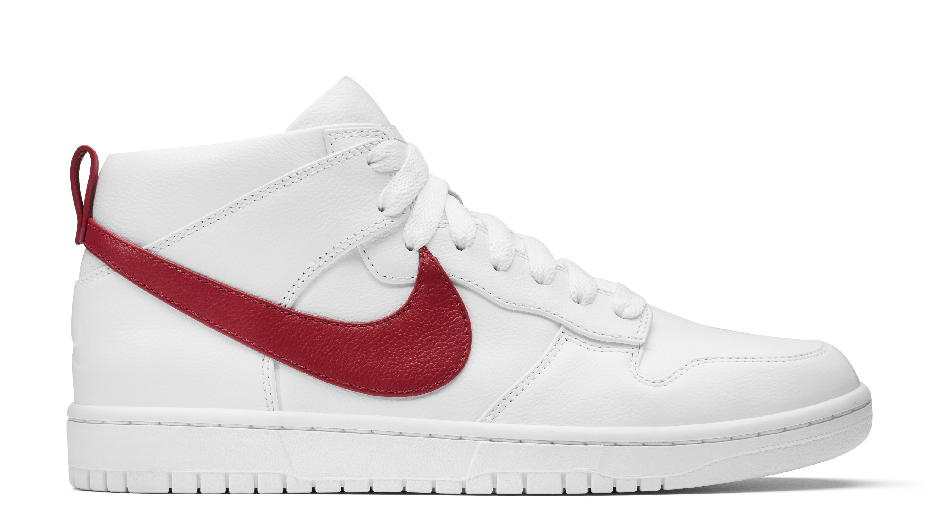 competitive price 7f2fe 28e09 Nike Dunk Lux Chukka Riccardo Tisci White Red