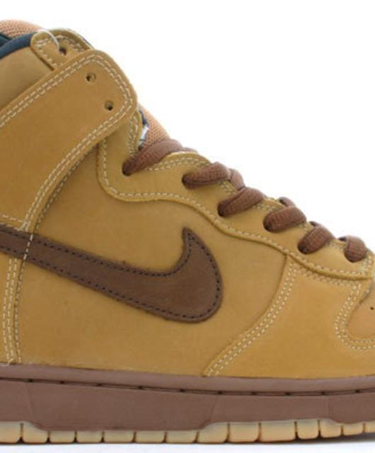 Nike Dunk High Pro SB Maple Bison Wheat 2002