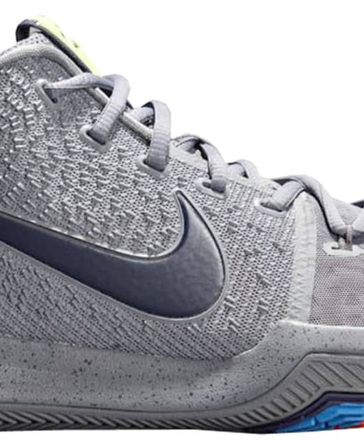 Nike Kyrie 3 Cool Grey Midnight Navy