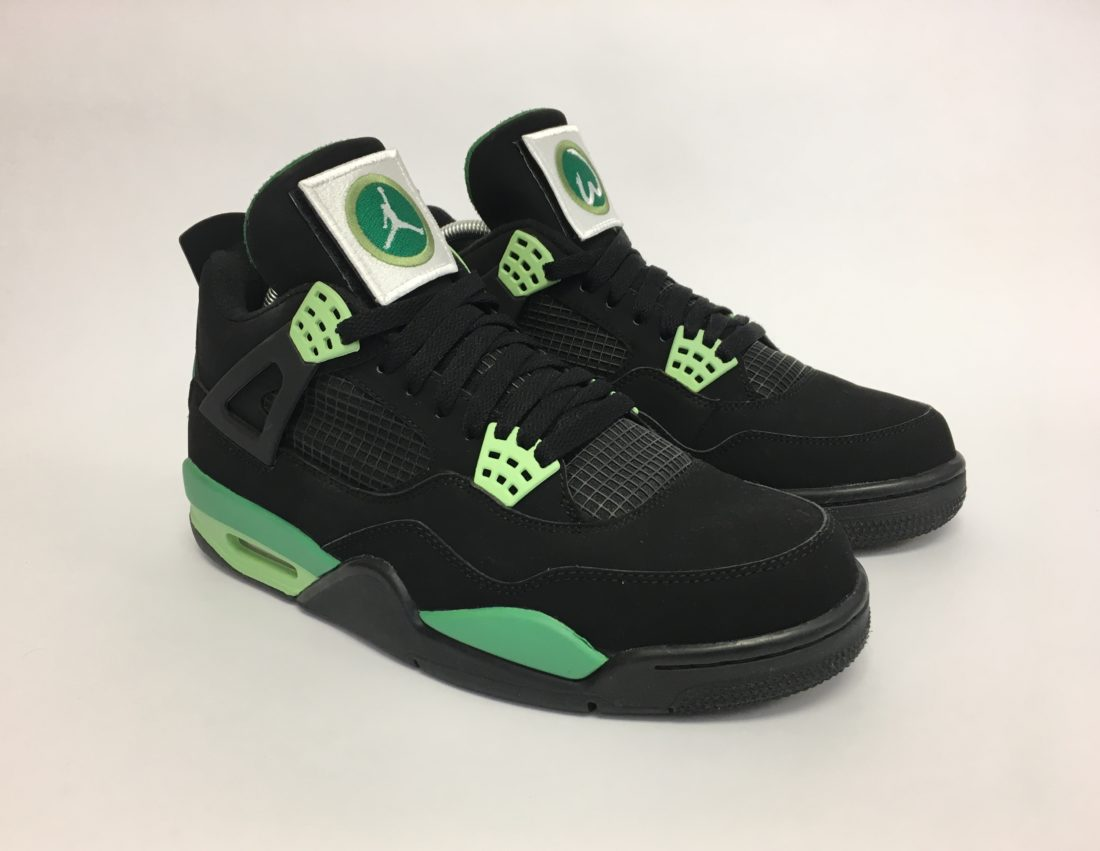 "Air Jordan 4 ""Wahlburgers"" by Mache Customs"
