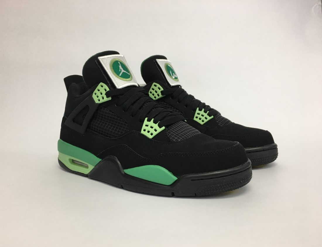 "Air Jordan 4 ""Wahlburgers"" by Mache"