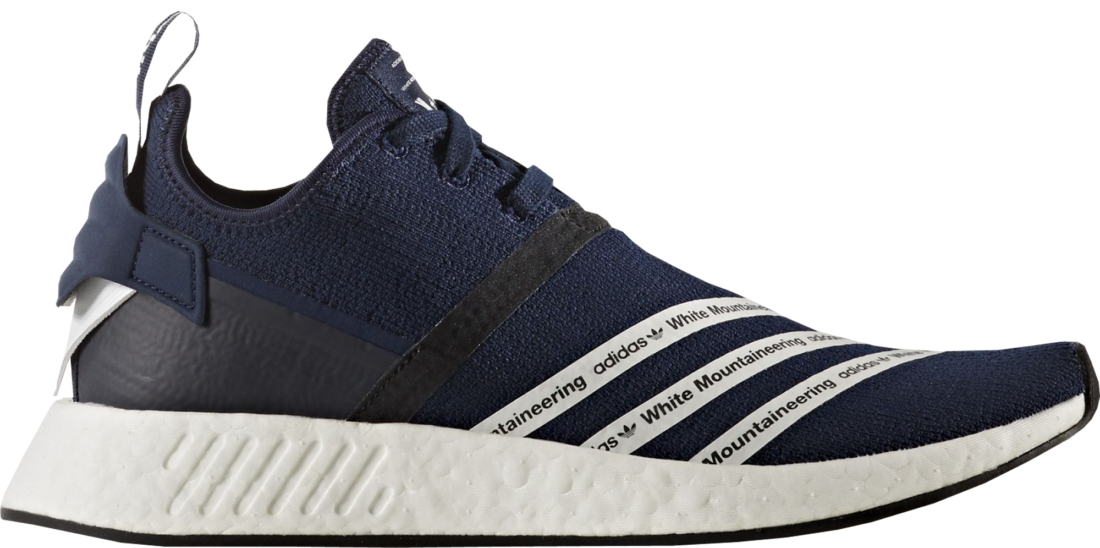 White Mountaineering x adidas NMD R2 Collegiate Navy