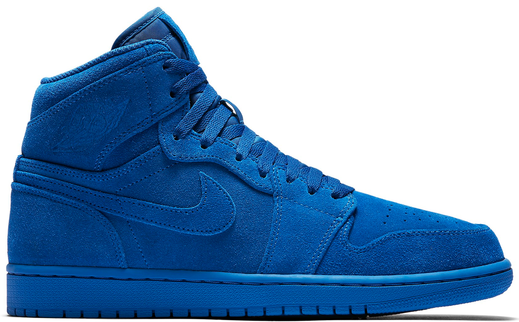 Air jordan 1 retro high royal suede for Jordan royal 1 shirt