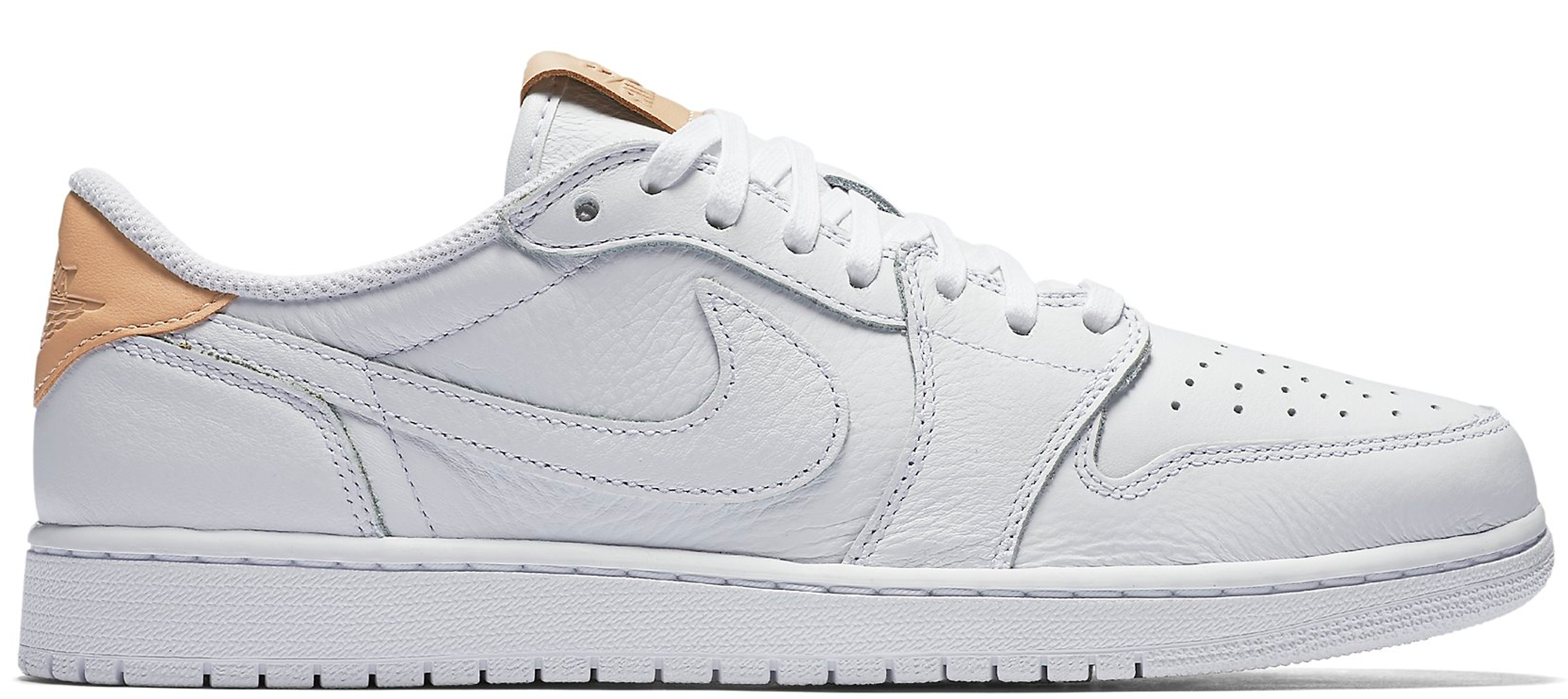 fb4bd4a36c52bf Air Jordan 1 Retro Low OG Premium White Vachetta Tan - StockX News