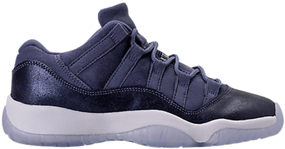 air jordan 11 retro low gg (gs) blue moon