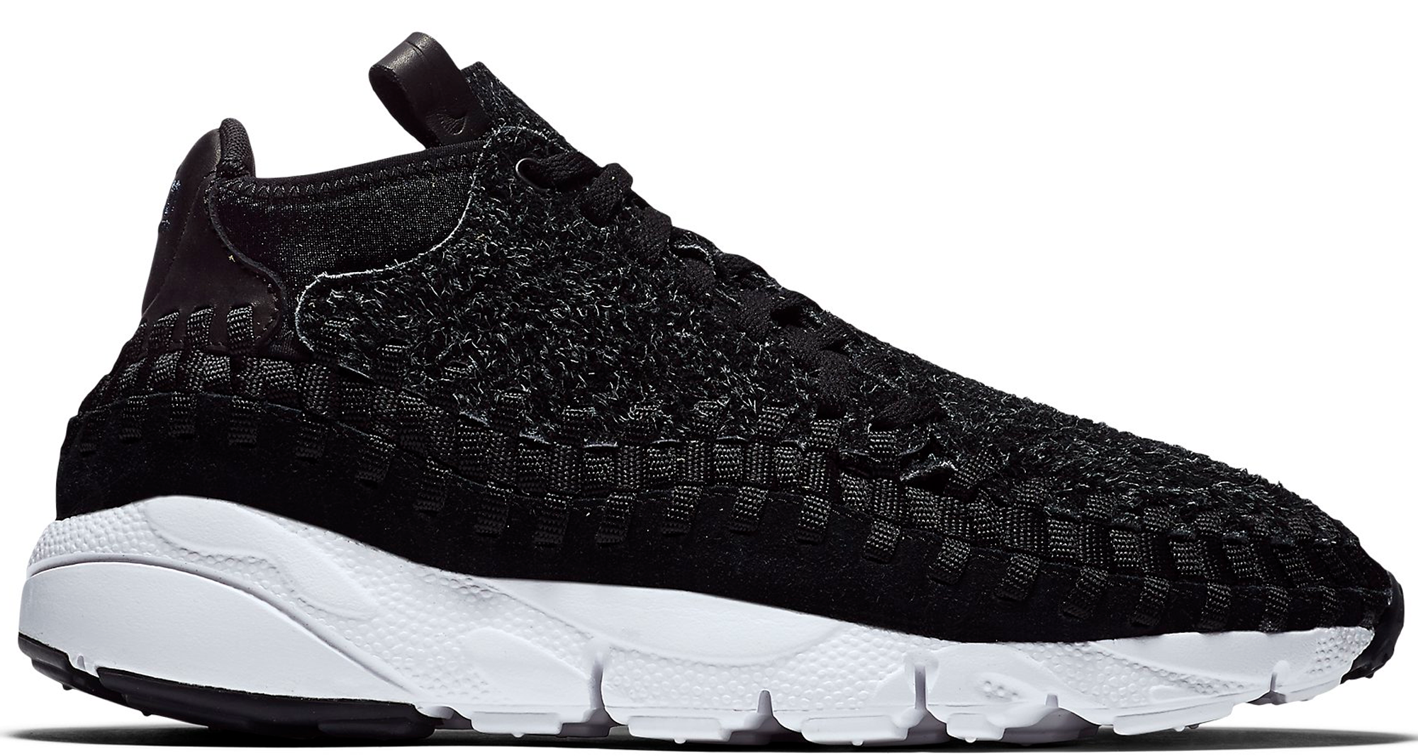 63640240a2f Nike Air Footscape Woven Chukka Black White - StockX News