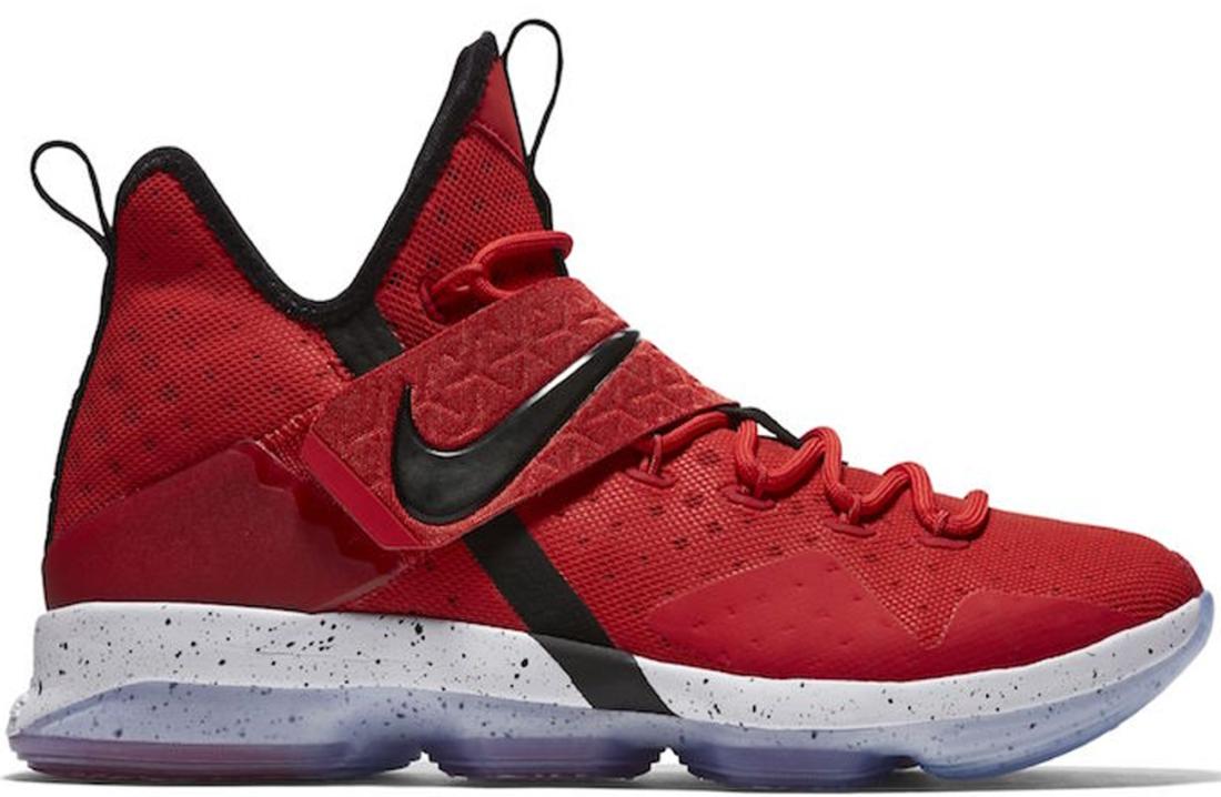 Nike LeBron 14 University Red
