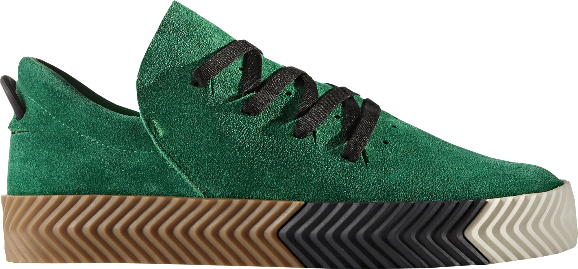 alexander wang x adidas aw skate green. Black Bedroom Furniture Sets. Home Design Ideas