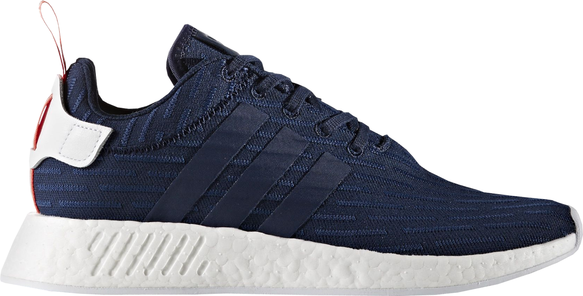 Adidas Nmd R2 Primeknit Navy White Bb2952 TopDeals