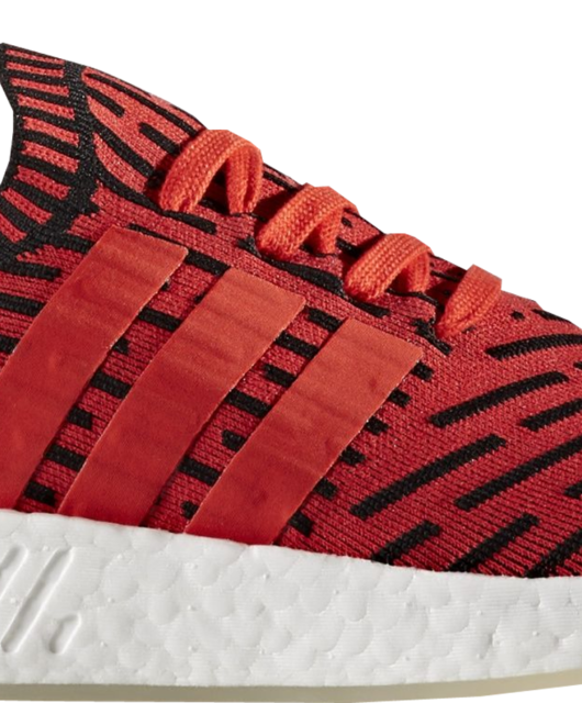 adidas NMD R2 Core Red Primeknit Two-Tone