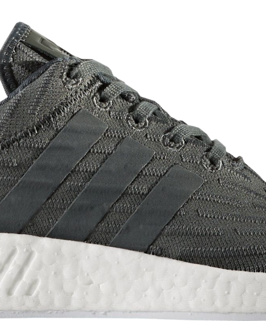 672a4525a51d8 ... Womens adidas NMD R2 Utility Ivy Trace Green Primeknit Two-Toned ...