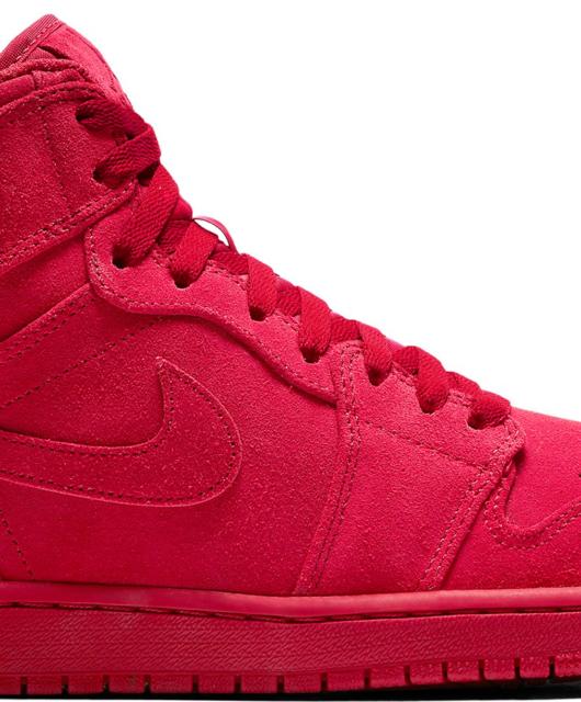 Air Jordan 1 Retro High Suede Gym Red