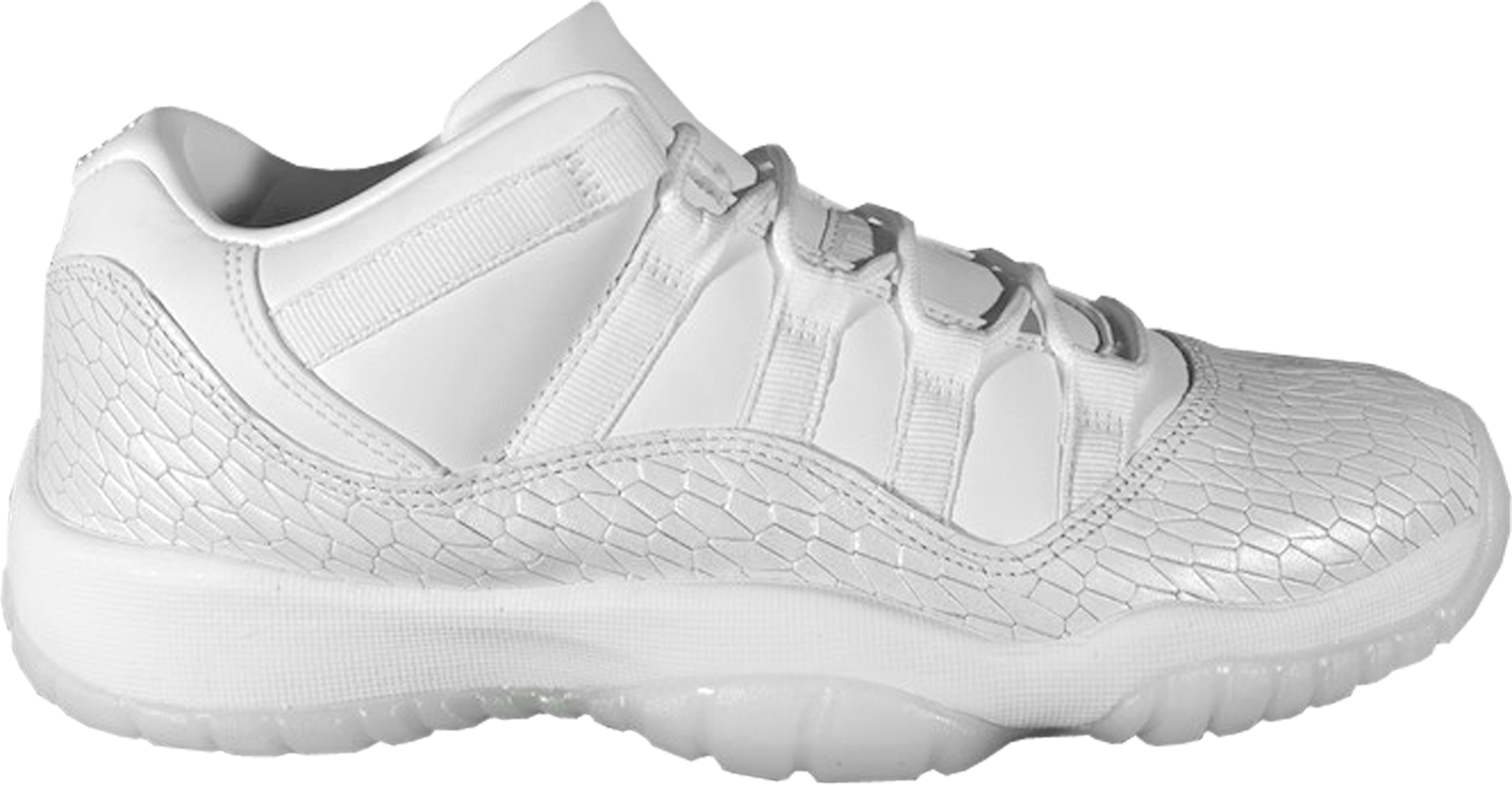 low priced c3303 de0b6 Girls Air Jordan 11 Retro Low Heiress White Ice - StockX News