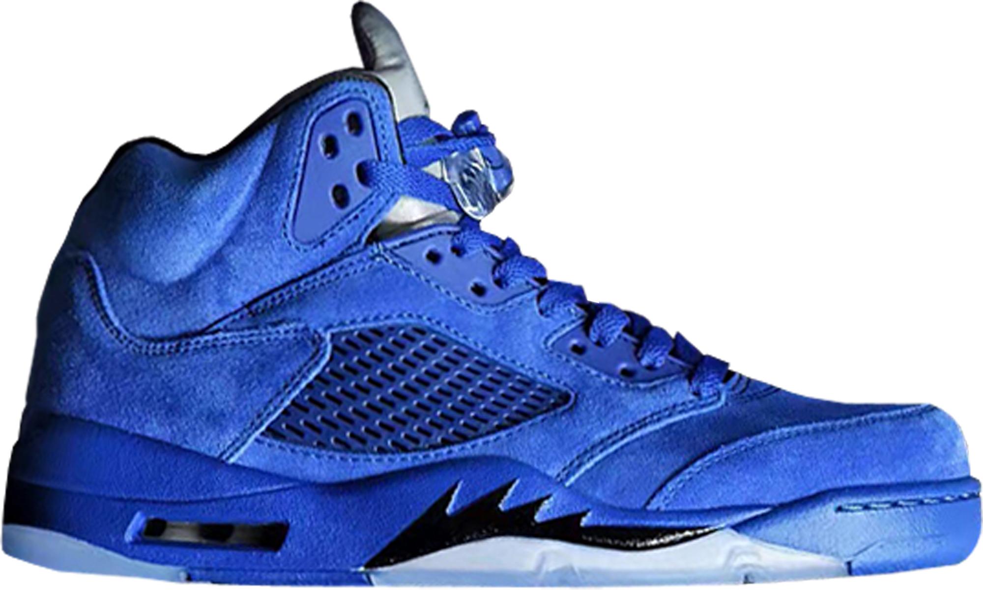 à vendre Footlocker Air Jordan 5 Vue De Dessus En Daim Bleu autorisation de sortie kS7rHmw