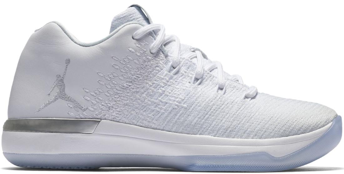 Air Jordan XXX1 Low White Pure Platinum