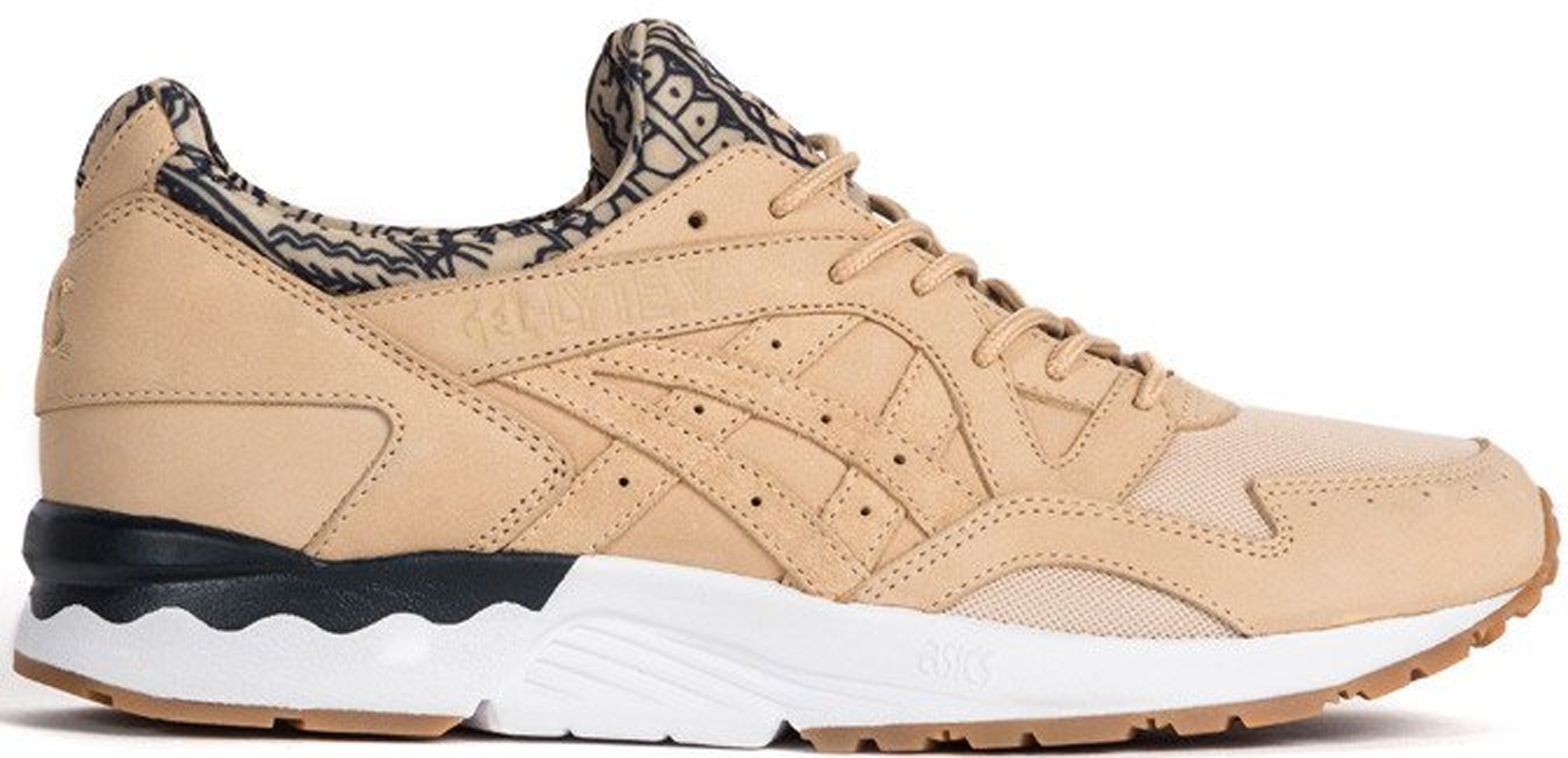 asics x commonwealth gel-lyte v beige