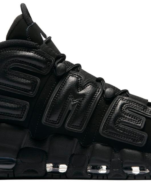 Supreme x Nike Air More Uptempo Black Suptempo