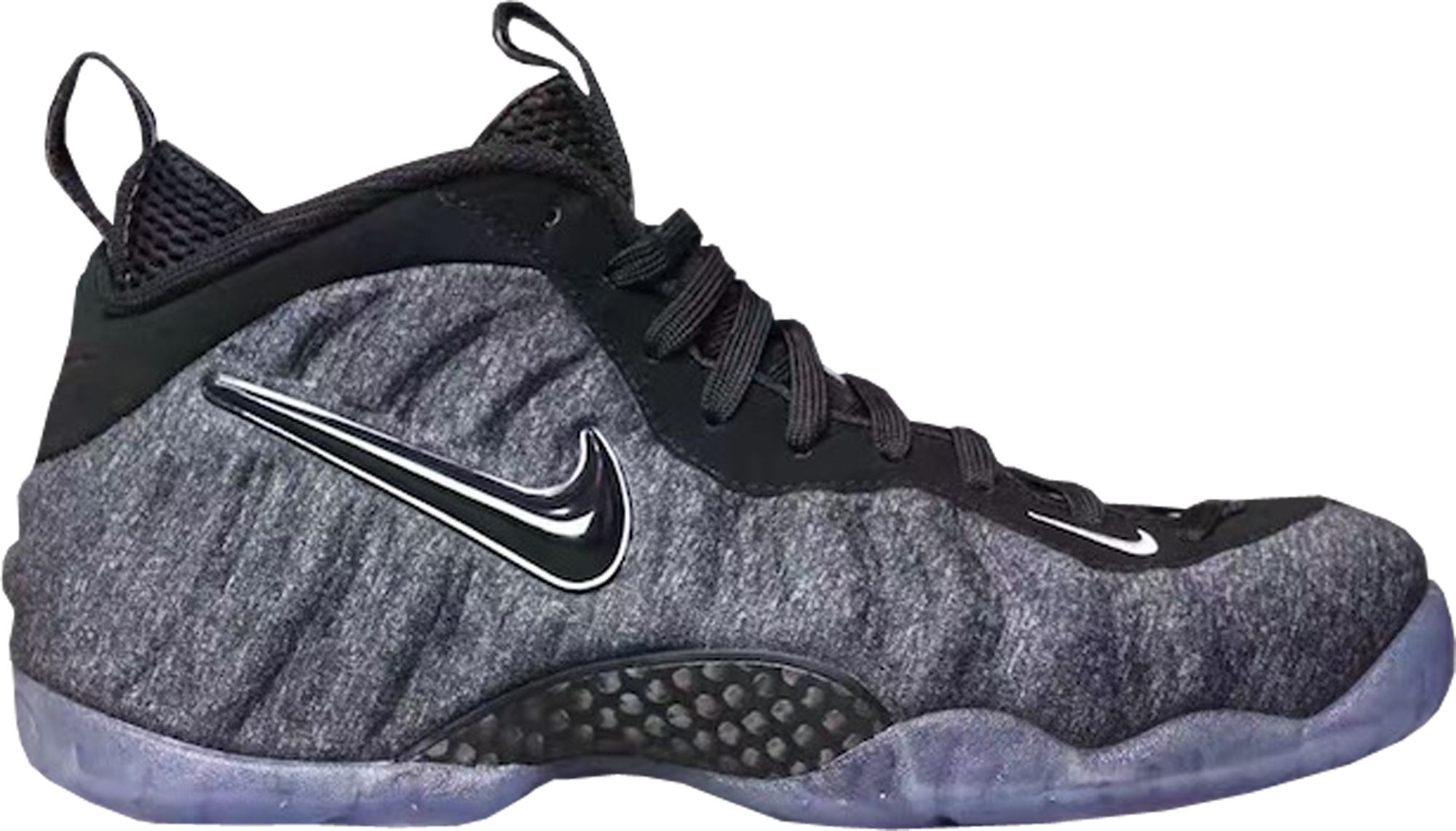 timeless design 21203 04563 Nike Air Foamposite Pro Wool Tech Fleece Dark Grey Heather
