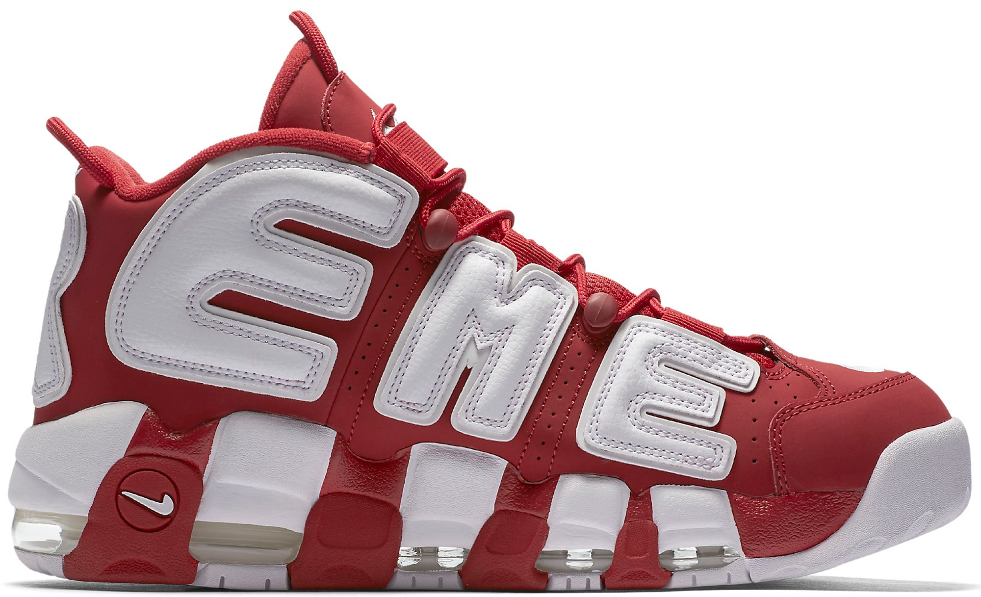 87032fc0ed84f Supreme x Nike Air More Uptempo Varsity Red Suptempo