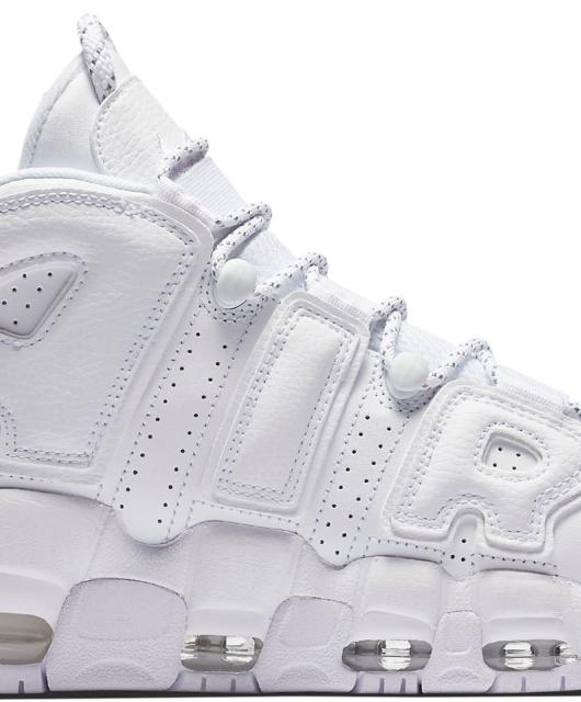 Nike Air More Uptempo Triple White 2017